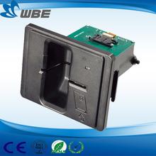 usb sim card reader 2 in 1 magnetic/IC card reader writer WBM-9800