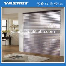 Melhor escolha decorativa shangri - la tecidos blinds trilho de cortina de alumínio