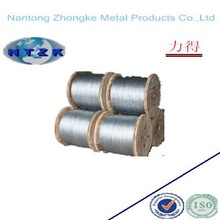 Building construction material 6*25+FC hot dipped galvanized steel wire rope
