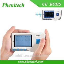 CE FDA approved digital ECG machine 3 channel