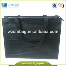 trendy shopping bag fashion non woven shopping bag