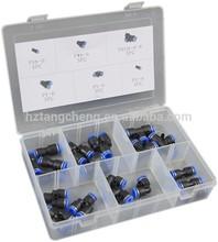Neumática conector TC BV certificación 20 unid Hardware surtidos neumático conector