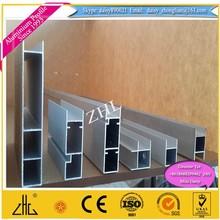 Aluminium profile for kitchen handle , matt silver anodized finished aluminium handle profile , Aluminium Cabinet Profile