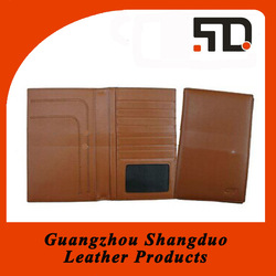 High Quality Leather Fashion Handmade Paper File Folder