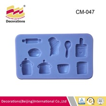 silicone cooking tool molds