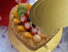 Fashion Food Grade Birthday Cake Plate