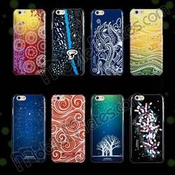 Joyroom Case for iPhone 6, Joyroom Noctilucent PC Hard Case for iPhone 6 4.7 for iPhone 6 Plus Cover