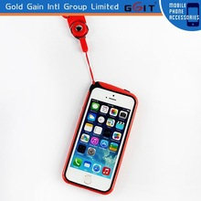 Cell Phone Case for iPhone 5s, tpu Bumper Case with String