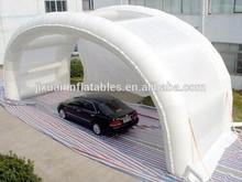Inflatable car garage shelter