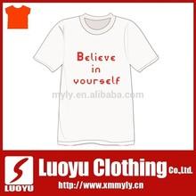 OEM Service Custom design Supply 100% Cotton Material T-Shirts