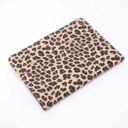 Leopard leather case for ipad mini 3,for ipad mini 3 wallet case