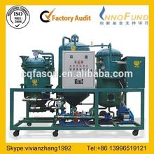 Low-temperature distillation separation technology motor oil regeneration machine
