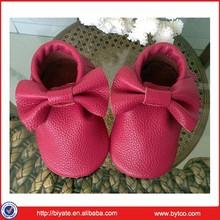 nappa di moda bella in vera pelle del bambino scarpe oem accolto favorevolmente