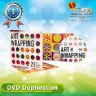 guangzhou supplier dvd duplication with perfect case