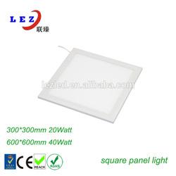 Hign quanlity Seamless welding 300X300 22w led panel lighting price for office lighting