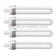 UV Lamp Set of 4 9W Bulb Gel Nail Art Dryer Lamp Light Heat Tube Safety New