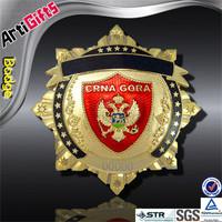 Handmade cheap metal russian military pin badge
