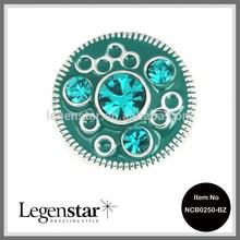 Legenstar 2014 20mm snap metal enamel press button jewelry NCB0250-BZ