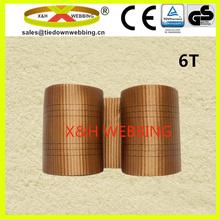 6T flat woven sling webbing