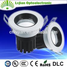 high lumen cob 6w led light downlight ce rohs