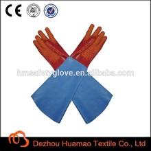 PVC fishing gloves long sleeve for winter