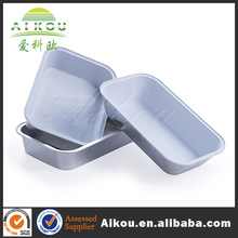 Oven food hot disposable airline aluminum foil meal tray for food packing