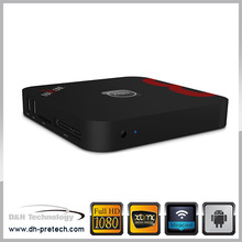 World best xbmc wifi skype bluetooth android 4.4 Allwinner A80 android tv box octa core support webcam video call skype