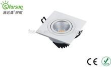 7w super lightness white color COB led shop light with CE cert