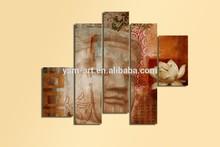 Original Large Abstract Printing Acrylic Heavy Textured Modern Canvas Wall Art