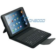 Leather Case + Wireless Bluetooth Keyboard For Ipad Mini Retina