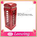 de plástico caja de dinero rojo de londres la cabina telefónica