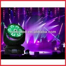 DMX Sound control RGBW LED moving head wedding stage decoration