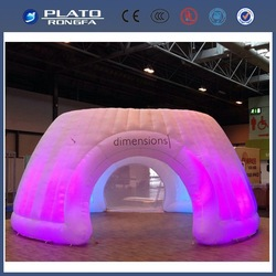 Durable LED inflatable event arch for wedding,trading show