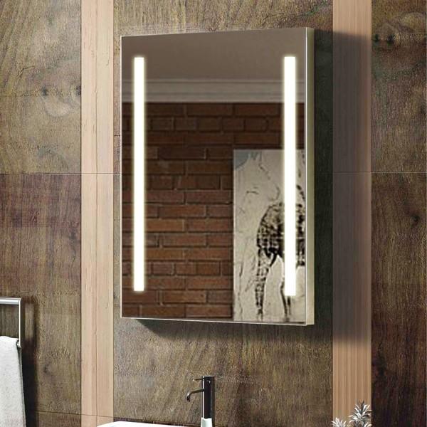wall mounted hollywood sunter lighted vanity mirror costco buy lighted vani. Black Bedroom Furniture Sets. Home Design Ideas