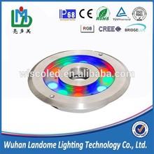 IP68 DC12V/24V 9x1w/9x3w R/G/B/RGB/RGBW LED Fountain lamp / underwater light/LED pool lamp