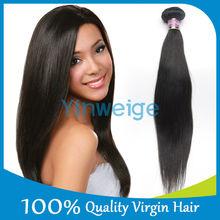Free Shipping Brazilian Virgin Hair Straight 3pcs/lot 12inch Natural Color 100% Human Hair Weaves Shedding Free & Tangle Free