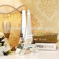 la torre eiffel patrón titular de la vela de cristal hechos a mano para decoraciones para el hogar