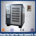 Gkd8v 3000A haute fréquence placage redresseur electro galvanisation machine pour zinc nickel