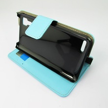 New Elegant Style Ultra Thin Stand Flip Side Pu Leather Cover Case for Lenovo P780