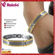 Guangzhou New Popular Jewels Manufacturing 10k yellow gold men's stainless steel diamond bracelet