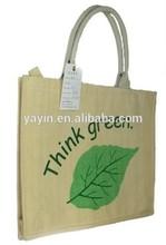 custom made linen bag, cotton bag, jute bag with hangtag