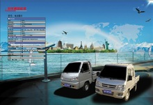 Automatic electric car from china made