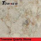Arabesquitic series light sand color quartz stone slab