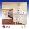 adto group EN131-approved household folding aluminium extension ladder