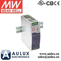 Mean Well WDR-120-12 120W 12V 10A Single Output Industrial DIN RAIL Power Supply