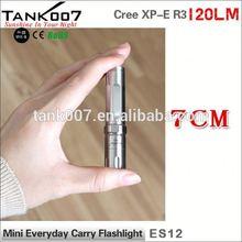 2014 New Cree XP-E R3 Led High Power Stylish emergency flashlight