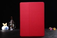 fashion gold Leather Case with Stand for iPad 6