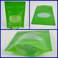hot selling 250g stand up bag green tea bag empty tea bags