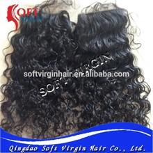 Full end Human Hair Silk Base Natural Curly Hair Closures,Brazilian virgin free parting Swiss lace closure