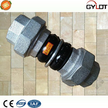 Double sphere sleeve type rubber joint flexible pipe